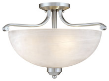Minka-Lavery 1424-84 - 3 Light Semi Flush Mount
