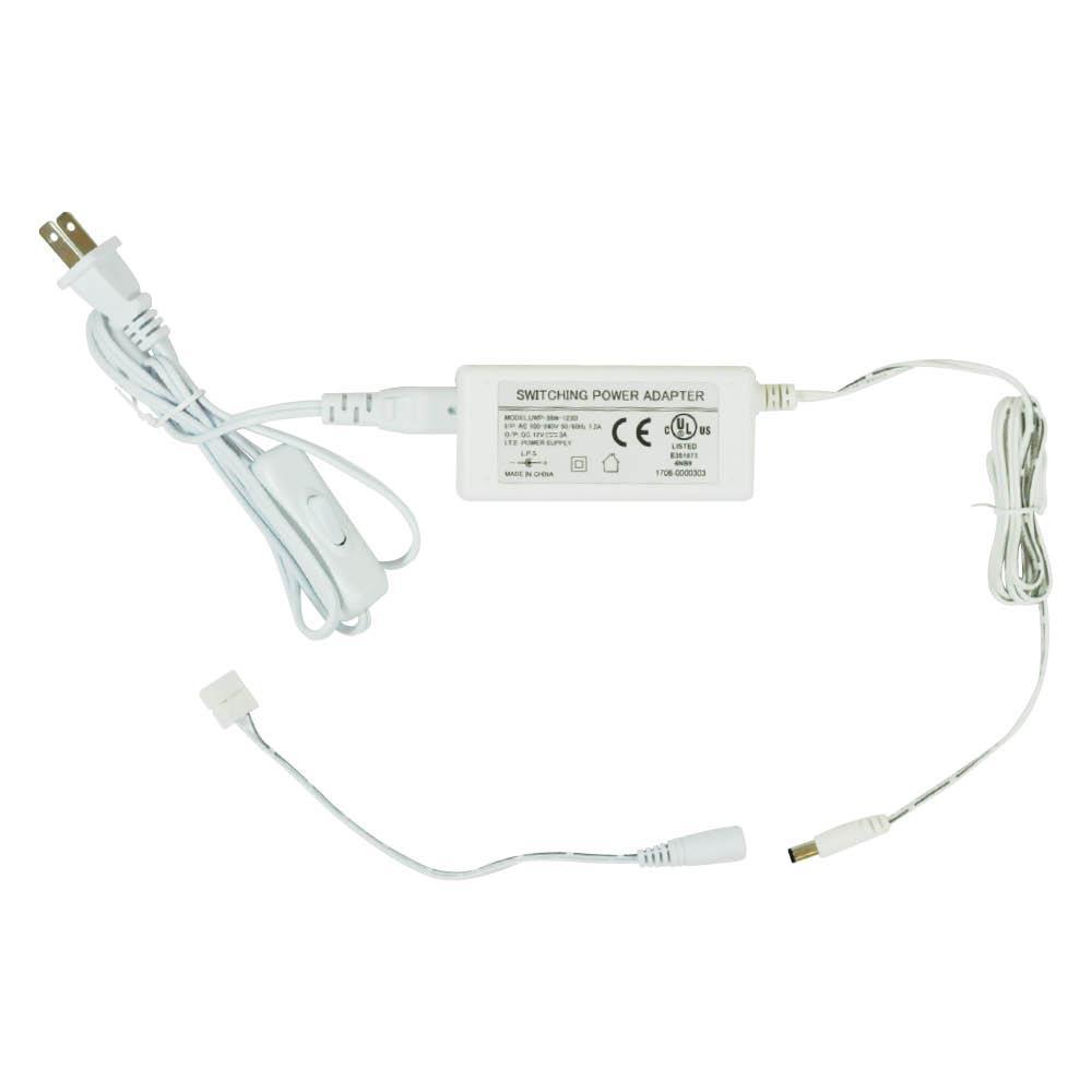 Plug-in Driver 36W 12V CW WW Non-Dim White STANDARD : 62265